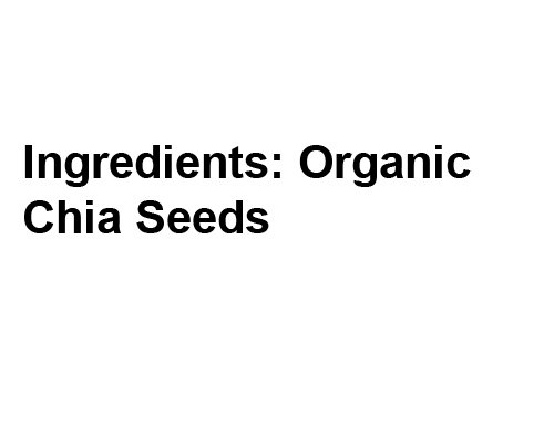 Amazon.com : Earth Circle Organics Chia Seeds, Black, 25 Pound : Grocery & Gourmet Food