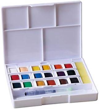 Kit Bloc de Dibujo Canson Aquarelle A4 XL - Pinceles Campus 3 piezas - Estuche Acuarelas 18 colores Superior: Amazon.es: Hogar