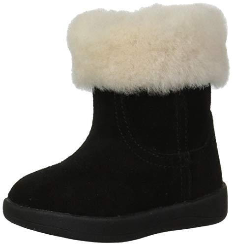 UGG Girls' I Jorie II Fashion Boot, Black, 4/5 M US Infant ()