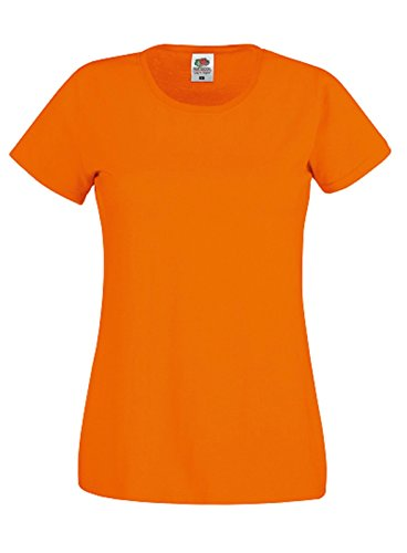 The Loom Donna shirt Of Fruit T Arancione Twq54nER