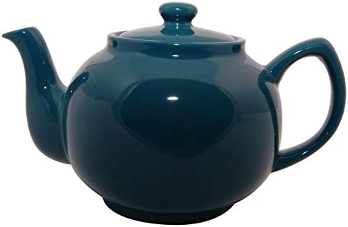 Price & Kensington Brights 6 Cup Teal Blue Teapot