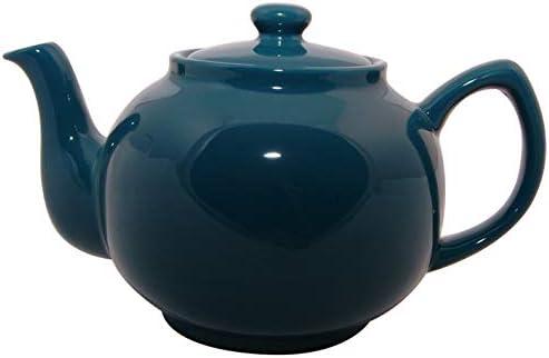 Price & Kensington Brights 6 Cup Teal Blue Teapot