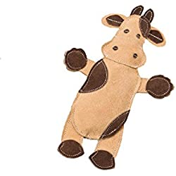 """SPOT Ethical Pets Dura-Fused Leather Assorted Barnyard Animals Dog Toys, 11"""""""