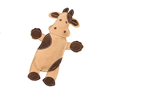 - SPOT Ethical Pets Dura-Fused Leather Assorted Barnyard Animals Dog Toys, 11
