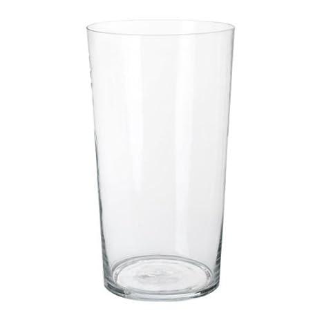 Ikea Bladet Vaso In Vetro Trasparente 65 Cm Amazon It Casa E