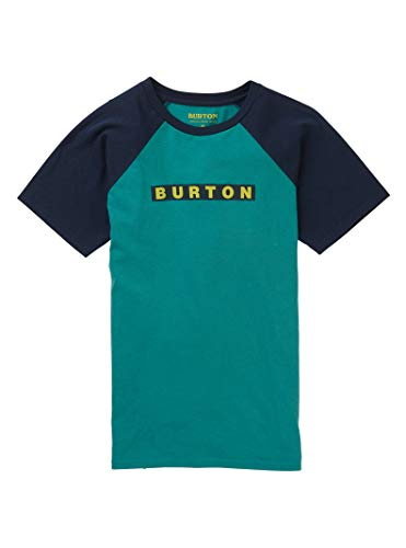 - Burton Kids' Vault Short Sleeve Tee, Green-Blue Slate, X-Small