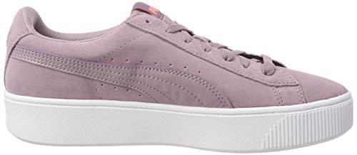 Vikky Puma elderberry Mujer elderberry Púrpura Stacked Zapatillas Para Sd gddw0r