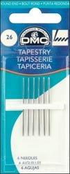 DMC Bulk Buy Tapestry Hand Needles Size 26 6 Pack 1767-26 (12-Pack) by DMC