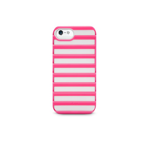 iLuv ICA7T325PNK Pulse Case Protection for Apple iPhone 5 and iPhone 5S - 1 Pack - Retail Packaging - Pink