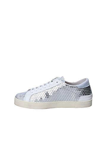 Laminated Low T Woman's A Pong Leather Honeycomb Hill E Silver D Sneaker Silver xXZ8O5x