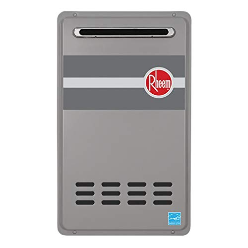 - Rheem RTG-84XLN-1 Tankless Water Heater, Grey