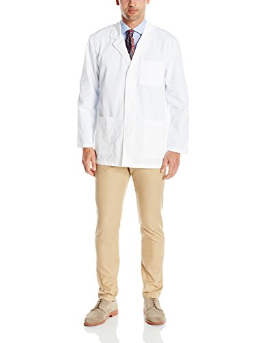 Dickies Men's EDS Professional Whites with Certainty 31 Inch Lab Coat, Medium