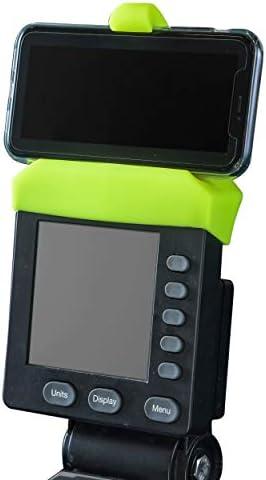 Telefoonhouder gemaakt voor PM5monitoren van roeimachine skiErg en BikeErgsiliconen fitnessproducten