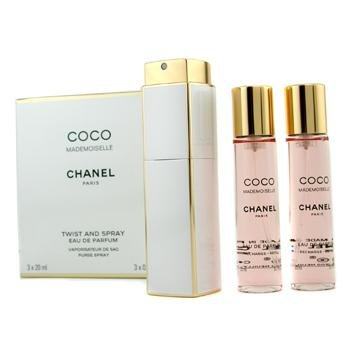 6c7ed168ae Chanel Coco Mademoiselle Twist & Spray Eau De Parfum - 3x20ml/0.7oz ...