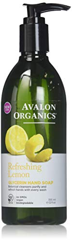(Avalon Organics Lemon Glycerin Hand Soap, 12 Ounce Bottles (Pack of 4))
