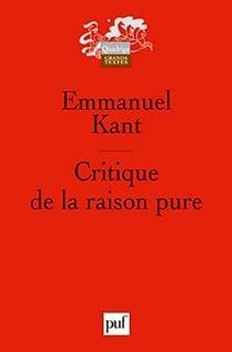 Critique de la raison pure, Kant, Immanuel