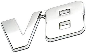 UrMarketOutlet 4WD Red//Chrome Aluminum Alloy Auto Trunk Door Fender Bumper Badge Decal Emblem Adhesive Tape Sticker