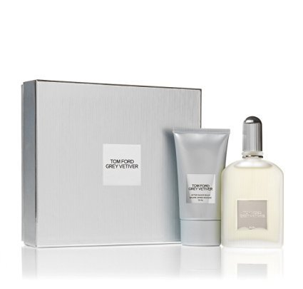 Tom Ford Grey Vetiver 1.7 oz / 50 ml edp Spray and After-shave Balm Gift Set (Best Tom Ford Aftershave)