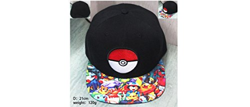 Pokemon Pokeball and Multi Characters Black Hat]()