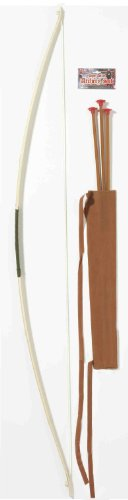 Forum Novelties Men's Super Deluxe Bow and Arrow Costume Accessory Set, Multi Colored, One Size