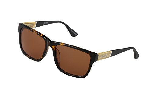 SANTANA Noble 102P Polarized Wayfarer Sunglasses, Tortoise Shell, 58 - Amazon Sunglasses Shell Tortoise Round