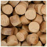 WIDGETCO 3/8'' Mahogany Wood Plugs, Face Grain