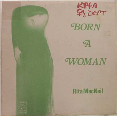 Price comparison product image Rita MacNeil - Born A Woman - Boot Records - BOS-7154 Very Good (VG) / Near Mint (NM or M-) LP,  Album