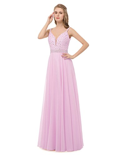 candy pink prom dresses - 6