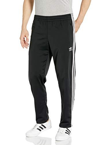 adidas Originals Men's Firebird Track Pants, Black, L