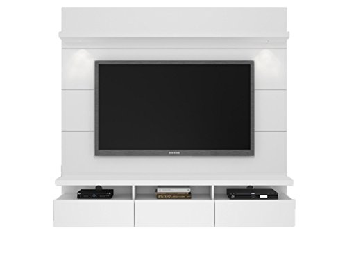 Manhattan Comfort 23852 Manhattan Comfort Cabrini Theater Entertainment Center Panel 2.2 in White by Manhattan Comfort