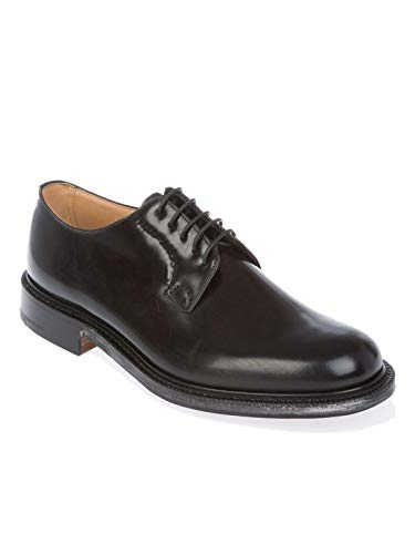 Uomo Pelle SHANNONPOLISHEDBLACK Nero CHURCH'S Stringate 0q5wwv