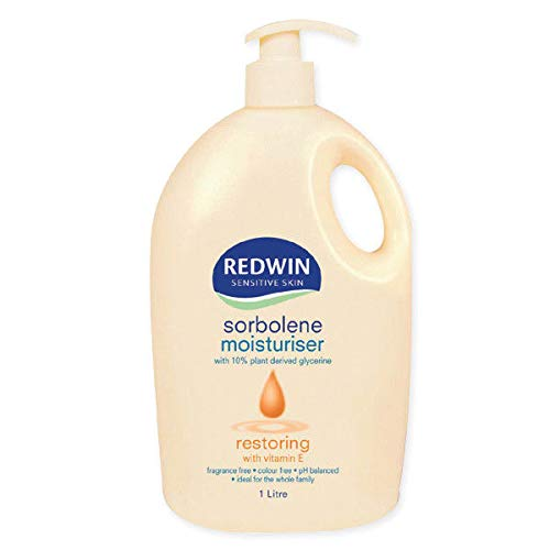 Redwin Sorbolene Moisturiser with Vitamin E Litre 1 Body Lotion import from Australia (Best Vitamin Brand Australia)