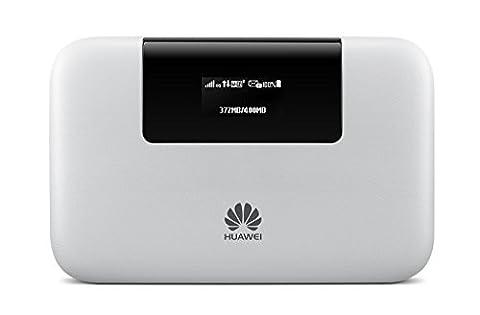 Huawei E5770s-320 4G LTE 150 Mbps Mobile WiFi Pro (20 hours working, 5200 mAh, Power Bank feature,Hotspot Ethernet port) (Mobile Wifi Huawei 4g)
