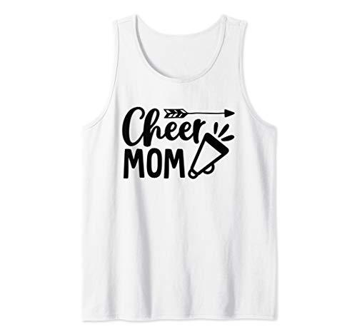 Proud Cheer Mom Cheerleader Pride Sports Supporter Tank - Mom Cheerleader Shirt