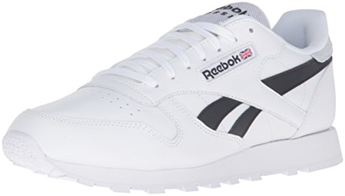 Reebok Men's Classic Leather Pop Fashion Sneaker - White/...