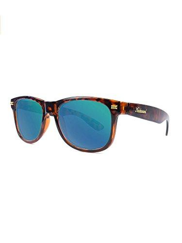 Knockaround Fort Knocks Polarized Sunglasses, Glossy Tortoise Shell / Green - Sunglasses Knock