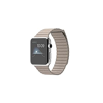 "Apple Watch 1.5"" OLED Acero inoxidable reloj inteligente - Relojes inteligentes (3,81"