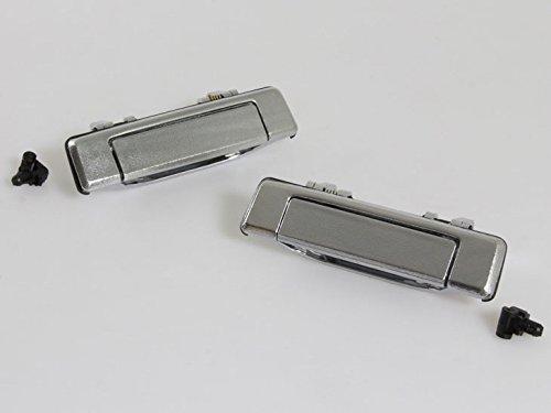 B2000 Series (NEW PAIR DOOR HANDLE OUTSIDE CHROME FOR MAZDA B SERIES B2000 B2200 B2600 BRAVO PICKUP 1985 -1998)