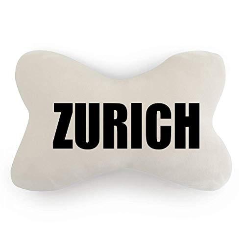 DIYthinker Zurich Switzerland City Car Neck Pillow Headrest Support Cushion - Pillow Zurich Bed