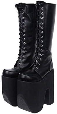 HHXXTTXS Punk Boots Super High Heel