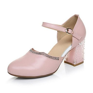 EU38 Heels 3 5 Pu 2In Comfort Women'S 5 Fall Blushing CN38 US7 RTRY Pink 2 UK5 4In Casual 65Cqan