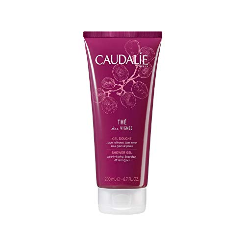 Caudalie The Des Vignes Shower Gel for Sensitive and Delicate Skin, 6.7 Ounce