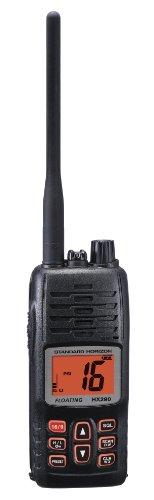Standard Horizon HX290 Handheld VHF Marine Radio, 5 Watts from STANDARD HORIZON