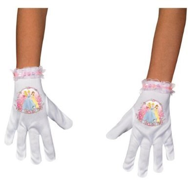 Disney Princess Gloves Costumes (Disguise Disney Princess Short Gloves Costume Accessory, One Size/Child)