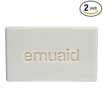 2 Packs of Emuaid Therapeutic Moisture Bar - 5 Oz