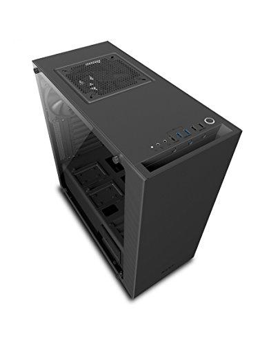 10 opinioni per NZXT ca-s340W-b3Case Gioco ad alte prestazioni con supporto VR, Colore: Nero
