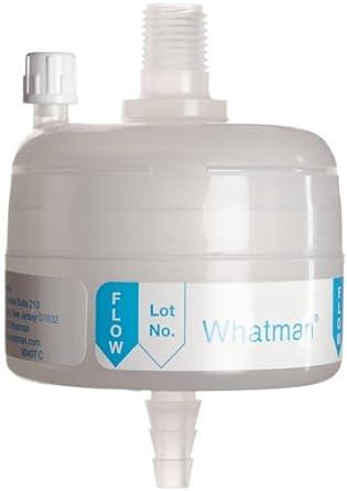 Whatman 6707-3612 Polycap HD 36 Polypropylene Capsule Filter with USP Class VI Non-Sterile, 60 psi Maximum Pressure, 0.45 Micron