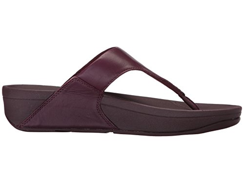 Fitflop Kvinners Lulu Thong Sandal Dyp / Plomme