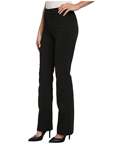 NYDJ Women's Michelle Ponte Trouser Charcoal Pants 8 X 33 by NYDJ (Image #2)