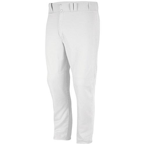 Majestic Athletic Mens Cool Base High Density Open Bottom Baseball Pant, White 2XL